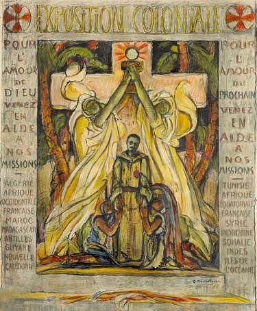 George Desvallières, Charles de Foucauld, 1931