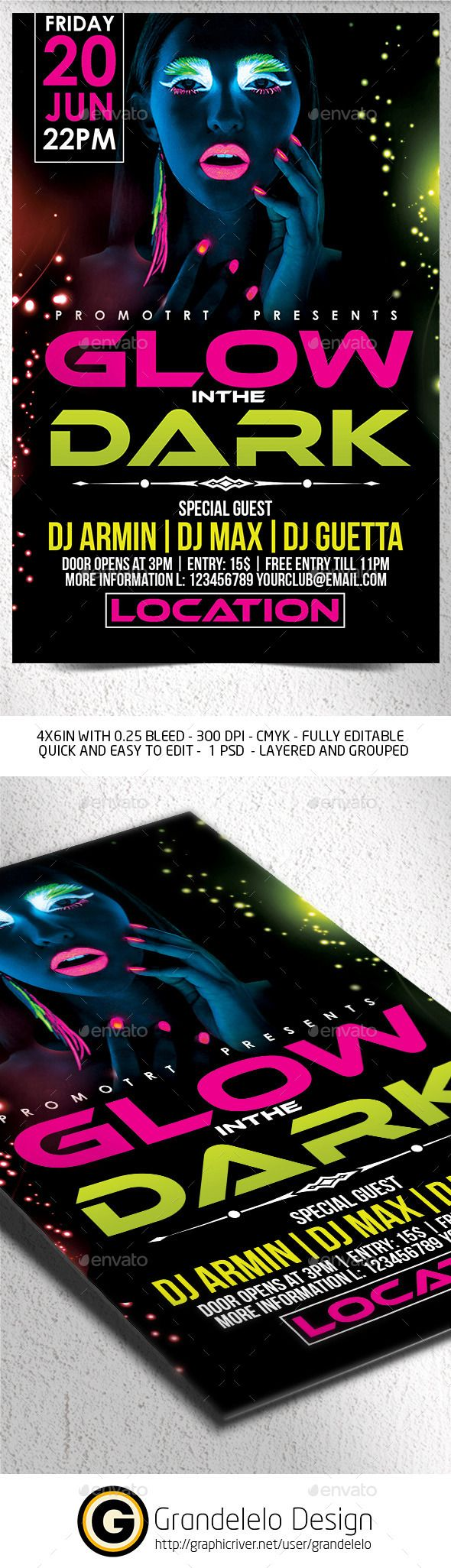 flyer party templates