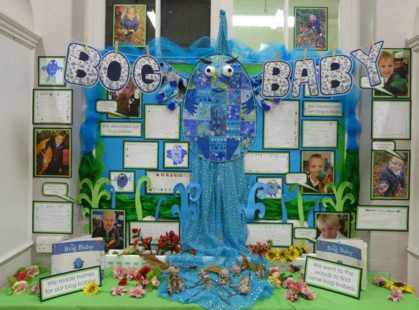 Bog Baby display