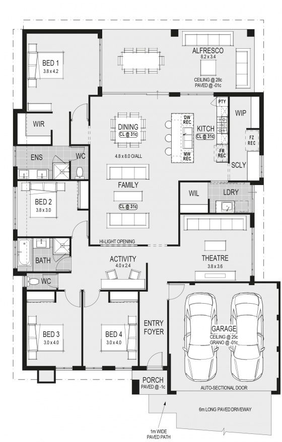 5390 Best Ev Plan Images On Pinterest Architecture House Floor Plans And Plants