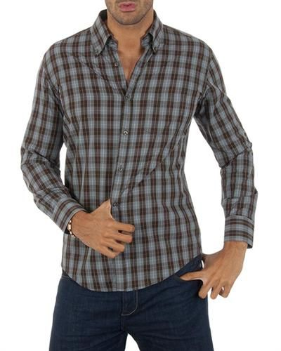 Lotto 100% Cotton Checkered Shirt Size XL