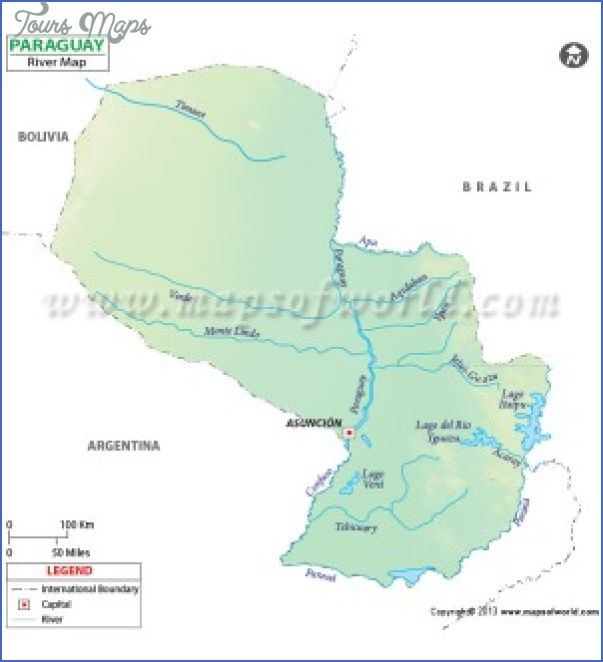 Awesome PARAGUAY RIVER ON WORLD MAP Tours Maps Pinterest - Map of paraguay world