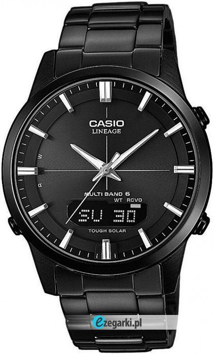 Jeden z najnowszych zegarków casio.