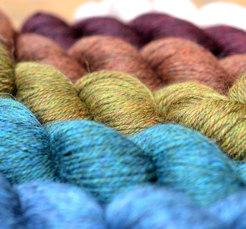 Viola yarns form john Arbon Textiles