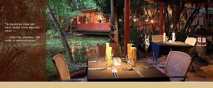 Spirit House Restaurant & Cooking School making contemporary Thai food. Yandina, Queensland.