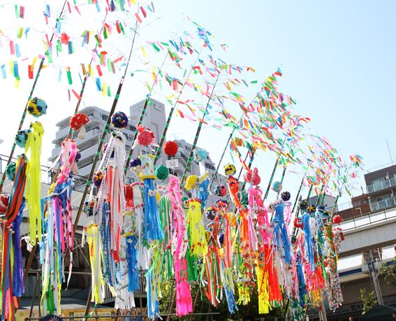tanabata festival sendai 2015
