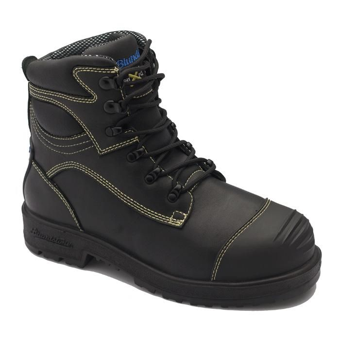 Industrial Shoes and Boots, Slip Resistant Shoes, Safety Footwear, Steel Toe Shoes, Steel Toe Boots, Metatarsal Boots - Lehigh Safety Shoes - Men's Footwear - blundstone - Metatarsal boots - Blundstone Armourtread Metatarsal Puncture Resistant Work Shoe