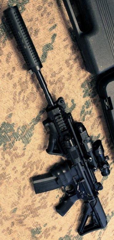 Wicked Cool Custom M4 Carbine Assault Rifle Firearm @aegisgears