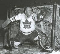 Turk Broda was a stalwart for the Leafs.