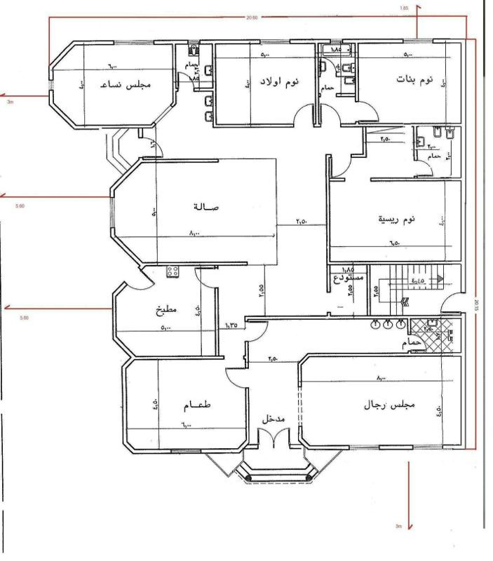 مخطط دور واحد صغير Indian House Plans Home Design Floor Plans Home Stairs Design