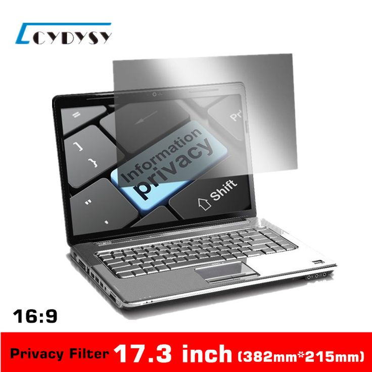 17.3 inch Privacy Filter Anti-Glare PET Materia  Laptop Screen Protector Film Cover for 16:9 Widescreen Notebook 382mm*215mm //Price: $47.35 & FREE Shipping //     #hashtag4