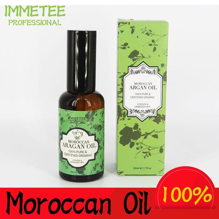 Sản phẩm mới hữu cơ moroccan argan oil cho việc chăm sóc tóc tinh khiết dầu argan 50 ml