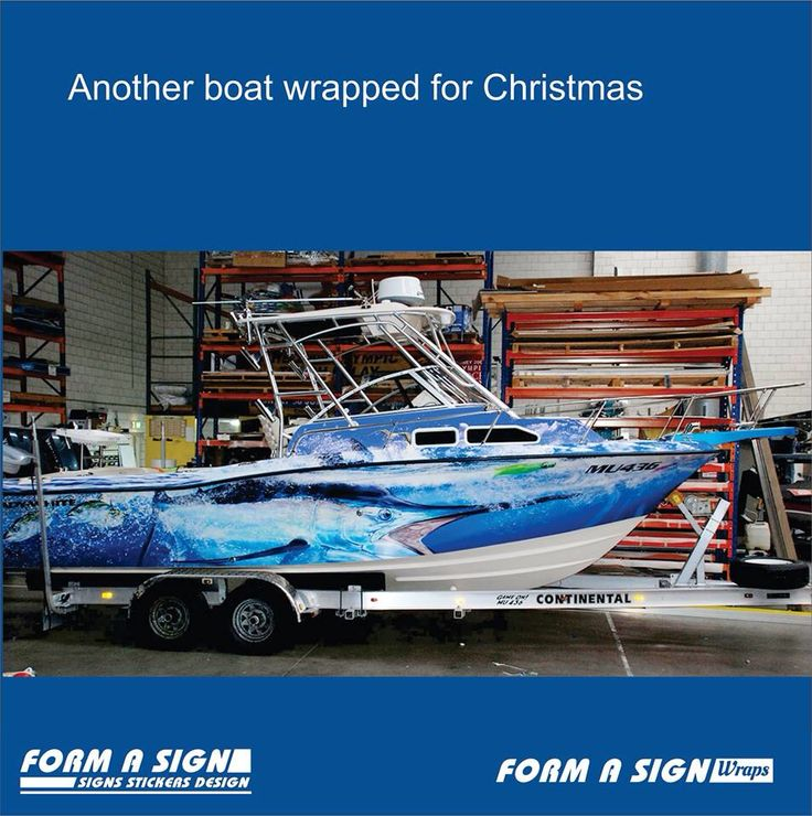 Grady white boat wrap