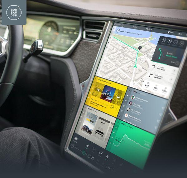 Tesla Interface Concept on Behance