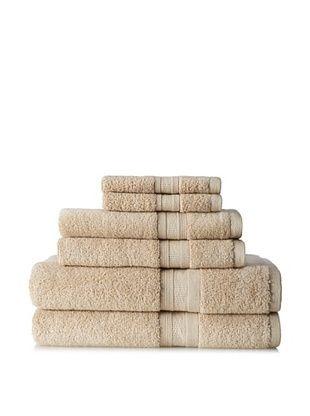 67% OFF Terrisol MicroCotton Aertex 6-Piece Towel Set (Linen)