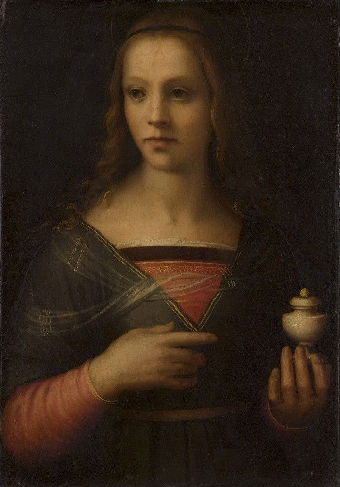 Saint Mary Magdalene. Domenico Puligo (1492-1527)
