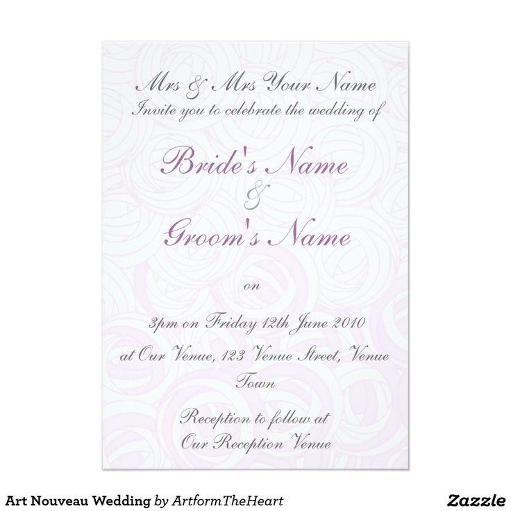 94 best Wedding - Invitations images on Pinterest   Invitations ...