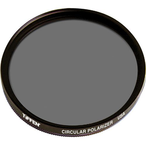 Tiffen 67mm Circular Polarizing Filter. Makes a Blue Sky Bluer, Enhances Clouds, Eliminates Reflections