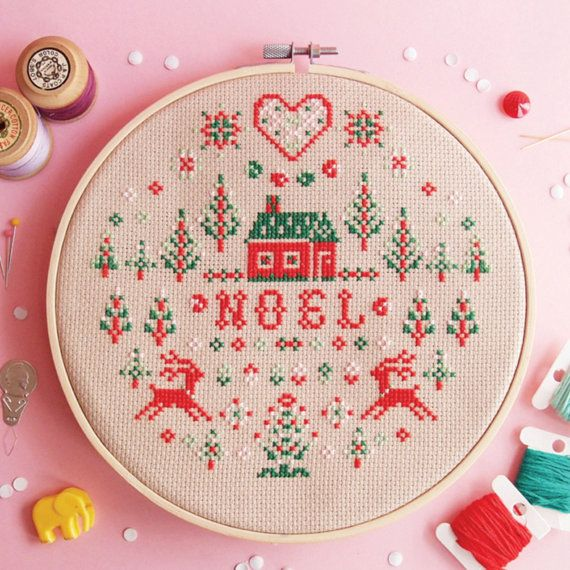 Hey, I found this really awesome Etsy listing at https://www.etsy.com/listing/242387809/christmas-cross-stitch-pattern-noel