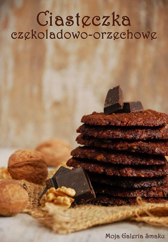 Ciasteczka czekoladowo-orzechowe