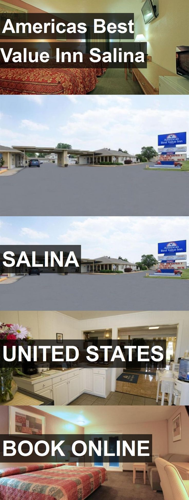 Hotel Americas Best Value Inn Salina in Salina, United States. For more information, photos, reviews and best prices please follow the link. #UnitedStates #Salina #travel #vacation #hotel