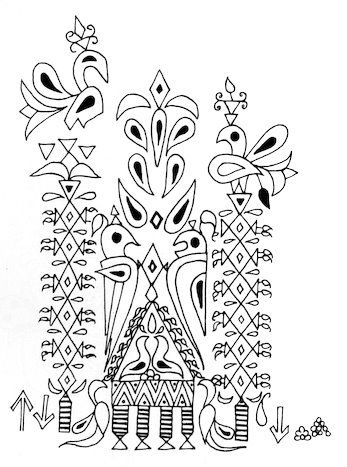 Indian Folk Designs: ~ Folk Designs from West India ~