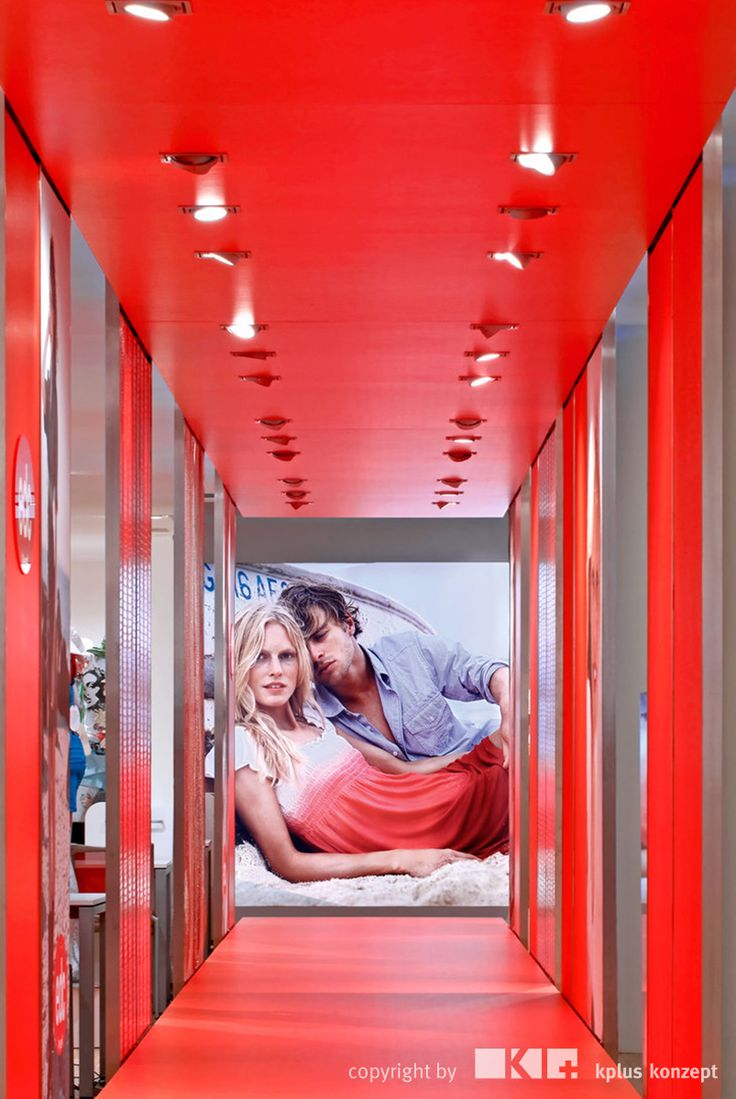 Esprit Showroom München - kplus konzept GmbH - http://kplus-konzept.de