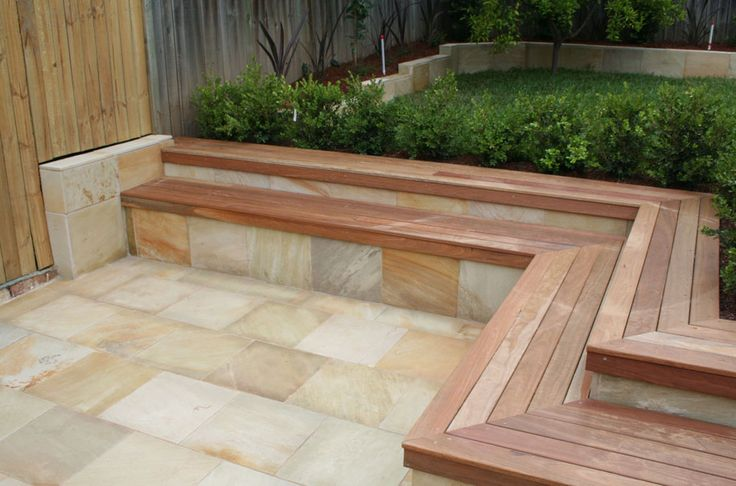 deck and retaining wall | patio retaining wall ideas