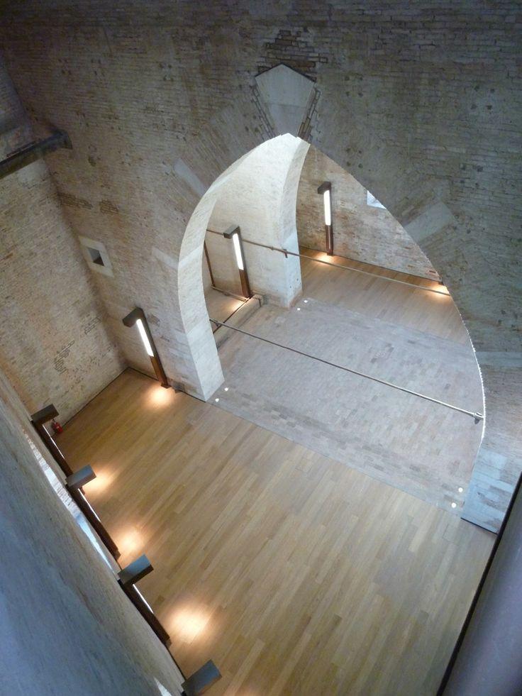 magnani pelzel architetti associati / recupero della torre di porta nuova, arsenale di venezia