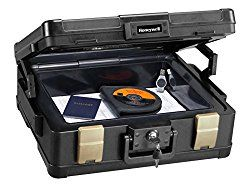 Honeywell 1104 1 Hour Fire/Water Safe Chest for Legal/letter/A4 Size Documents Review