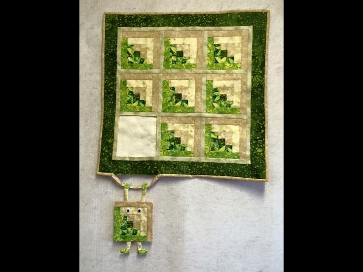 Cute wall quilt made by Denise Bursey-Penney. Love it!