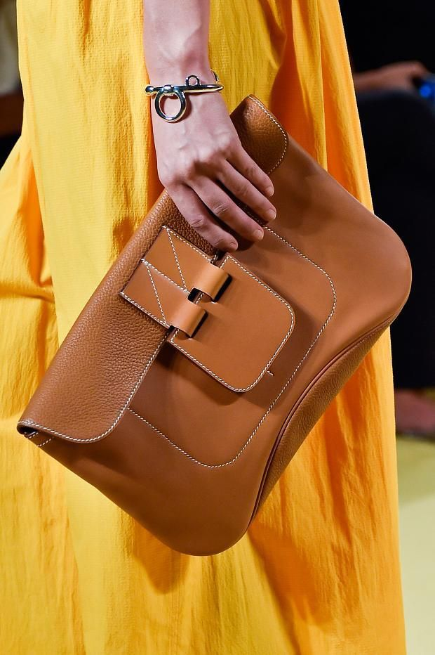 Hermes ~ Summer British Tan Clutch  2015