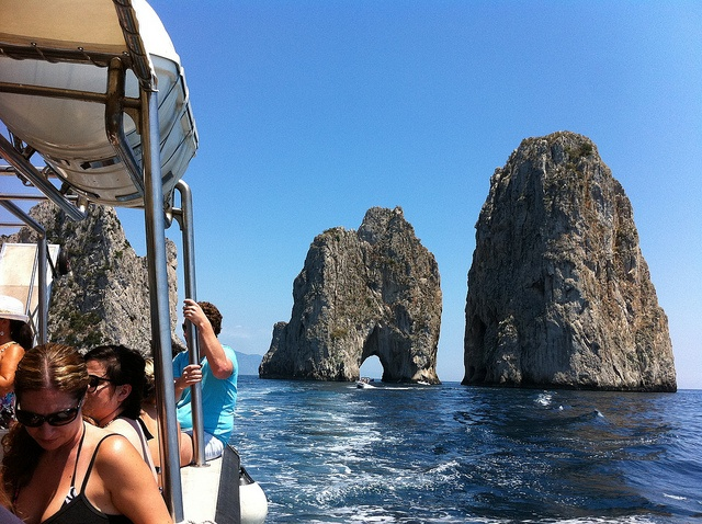 Capri, Italy - Around the Island Boat Tour