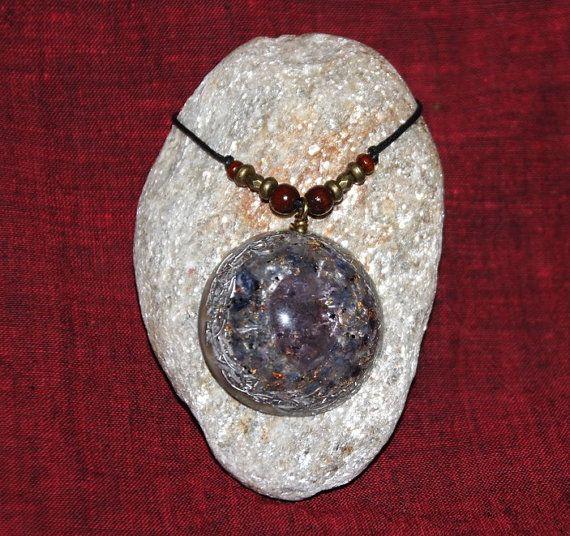 Orgone pendant amethyst  beautiful orgone by OrgonizeYourLife, $36.99