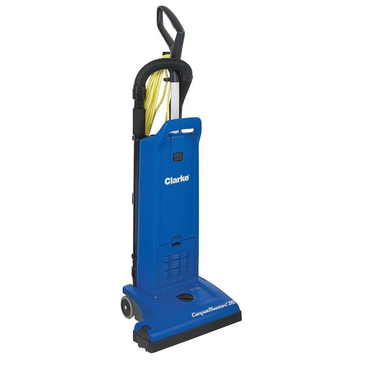 Clarke CarpetMaster 215 Dual Motor Commercial Upright Vacuum Cleaner, Blues