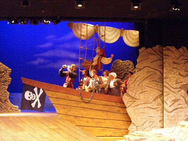 The Pirates of Penzance by Ryan Emens, via Behance