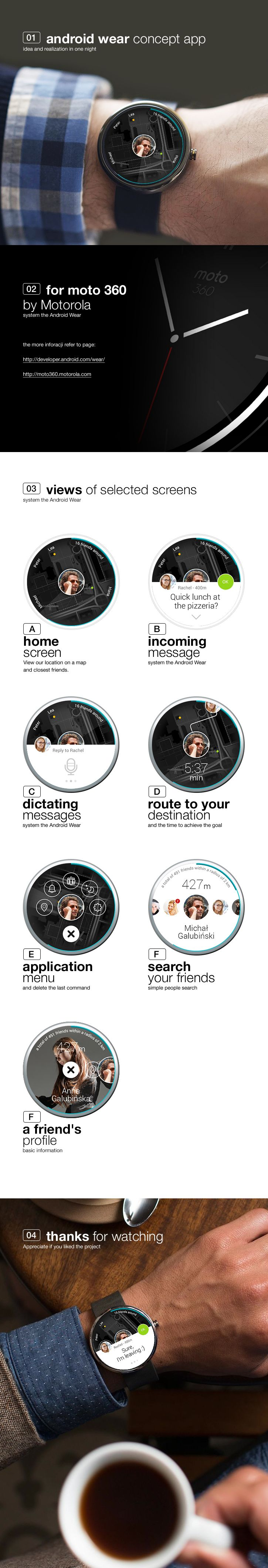 more: https://www.behance.net/gallery/application-concept-for-android-wear/15504967