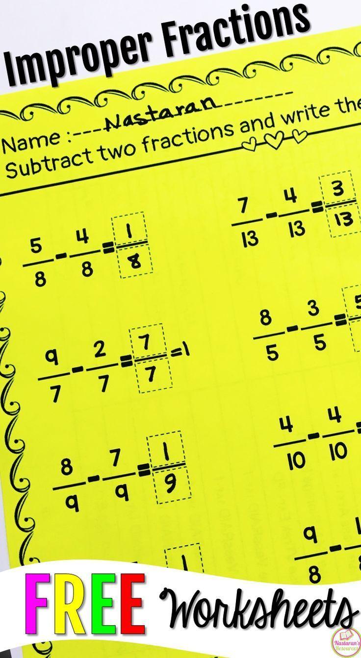 best 25 improper fractions ideas on pinterest math fractions 4th grade math and simplify math. Black Bedroom Furniture Sets. Home Design Ideas