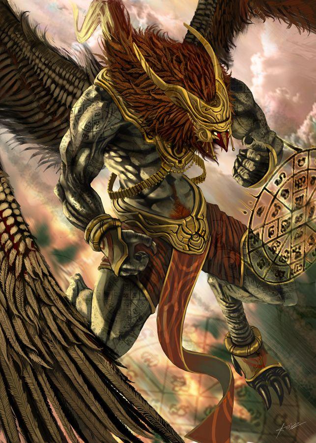 Garuda - Induist Mythology