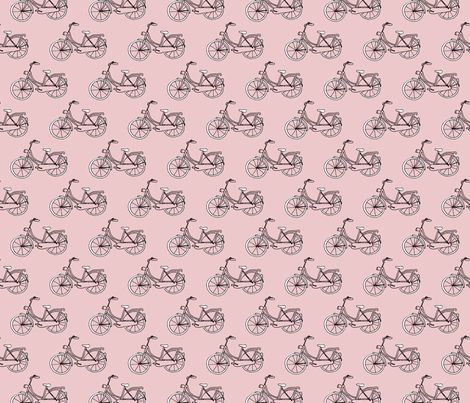 Black and gray hipster bike series quirky dutch theme illustration pattern fabric - surface design by Little Smilemakers on Spoonflower - custom fabric and wallpaper inspiration for kids clothes fun fashion and trendy home decorations.