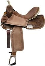 Double T Top Filigree Barrel Saddle for Sale