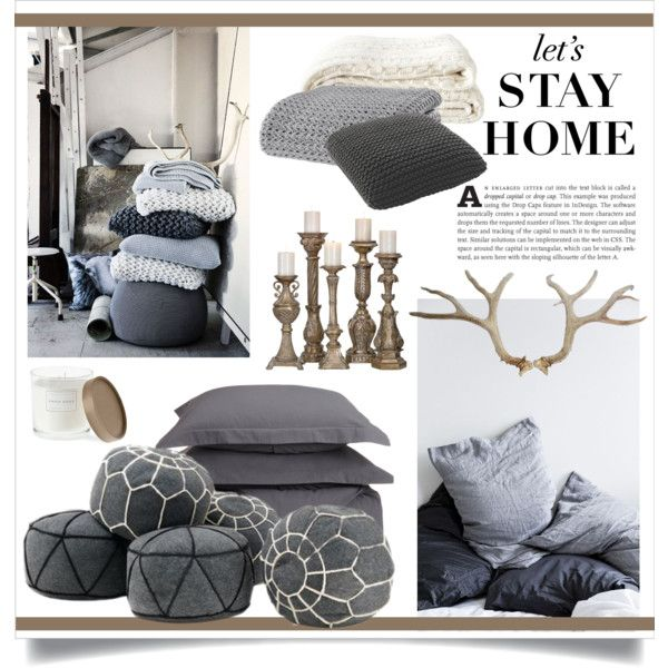 """Let's Stay Home"" by veronikasinterior on Polyvore"