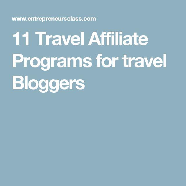 11 Travel Affiliate Programs for travel Bloggers
