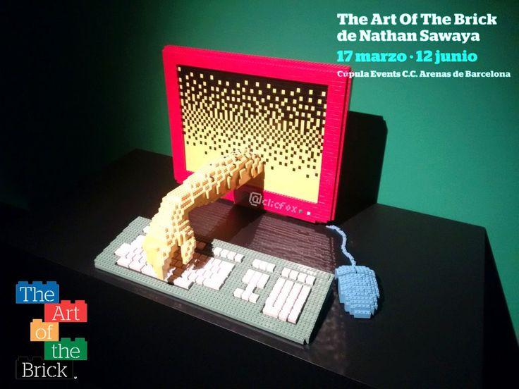 """""""Los #sueños se construyen… ¡pieza sobre pieza!"""" Esta es la frase que acompaña a The #art ofThe #Brick, la mayor #exposición itinerante realizada con piezas de #Lego porNathan #Sawaya…"""