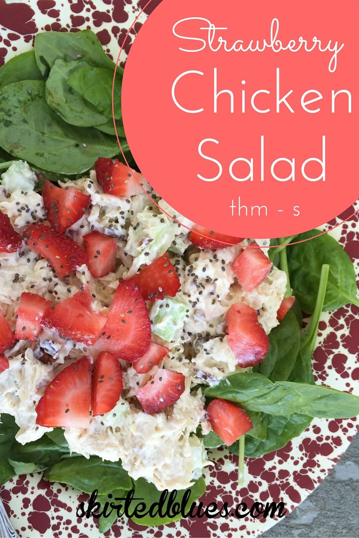Chicken salad is one of my favorite summer lunches. It is something I have missed while eating on theTrim Healthy Mamaeating plan. I love Briana's Buffalo Chicken Salad recipe, but I wanted a more traditional one, as well. Here is what I came up with – strawberry chicken salad. It was a big hit and...Read More »