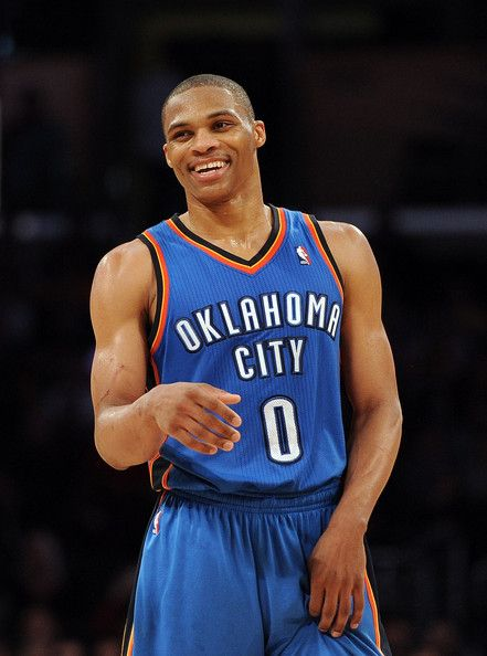 russell westbrook | Russell Westbrook Russell Westbrook #0 of the Oklahoma City Thunder ...