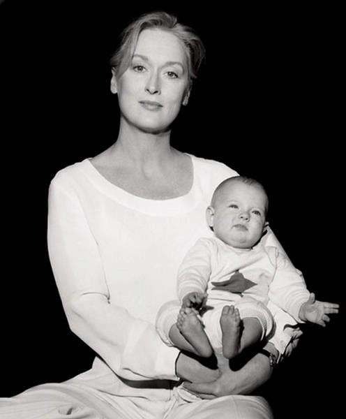 Mama Meryl Streep.Cancer Sun
