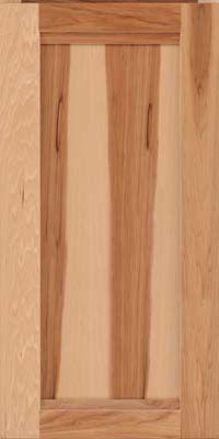 Square Recessed Panel Veneer Ac8h Hickory In Honey