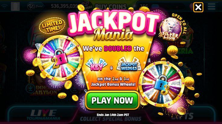 jackpot promotion on Behance