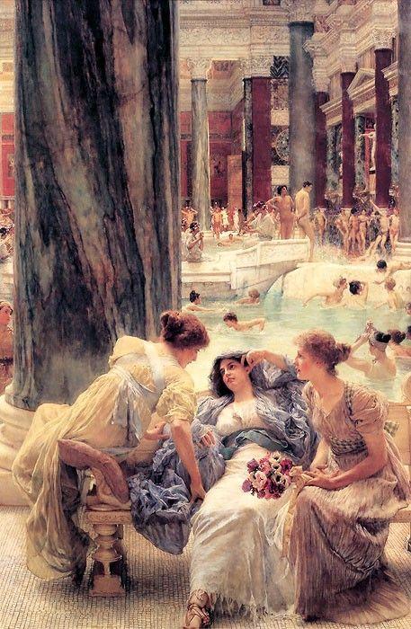 Alma - Tadema, Sir Lawrence - Caracalla Hamam